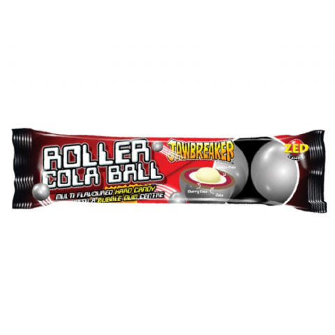 Roller Cola Ball Jawbreaker 5 Pack Zed Candy Novelty Bubblegum Sweets
